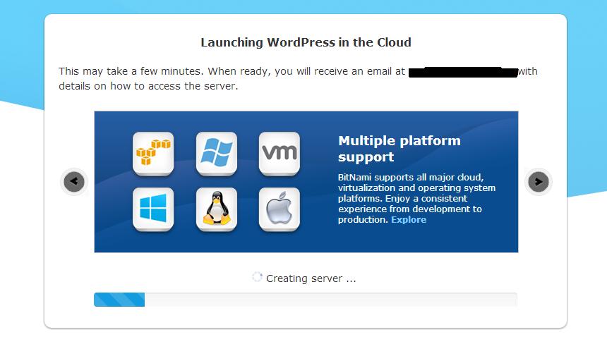 wp-on-cloud