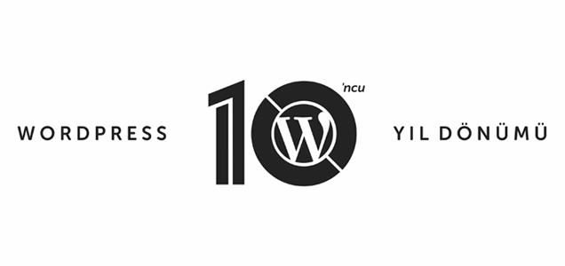 WordPress 10. Yıl Dönümü Partisi